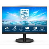 "Philips V Line 241V8LA/00 LED display 60,5 cm (23.8"") 1920 x 1080 Pixel Full HD Nero"