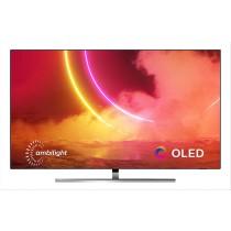 "Philips 65OLED855/12 TV 165,1 cm (65"") 4K Ultra HD Smart TV Wi-Fi Nero, Argento"