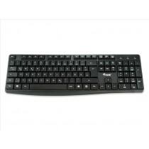 Conceptronic 245213 tastiera USB QWERTY Italiano Nero