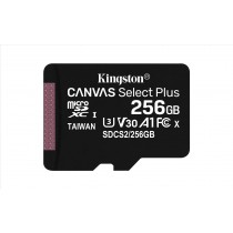Kingston Technology Canvas Select Plus memoria flash 256 GB MicroSDXC Classe 10 UHS-I