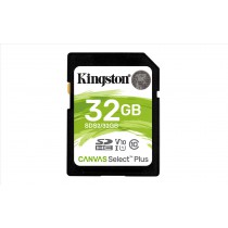 Kingston Technology Canvas Select Plus memoria flash 32 GB SDHC Classe 10 UHS-I