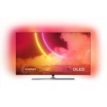 "Philips 55OLED855/12 TV 139,7 cm (55"") 4K Ultra HD Smart TV Wi-Fi Nero, Argento"