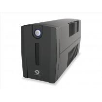 Conceptronic ZEUS01ES gruppo di continuità (UPS) A linea interattiva 650 VA 360 W 2 presa(e) AC
