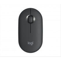 Logitech Pebble M350 mouse Wireless a RF + Bluetooth Ottico 1000 DPI Ambidestro