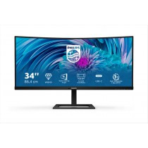"Philips E Line 346E2CUAE/00 monitor piatto per PC 86,4 cm (34"") 3440 x 1440 Pixel Wide Quad HD+ LCD Nero"