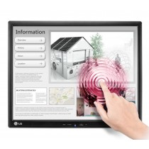 "LG 17MB15T-B 17"" 1280 x 1024Pixel Single-touch Multi utente Nero monitor touch screen"