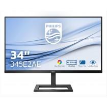 """Philips E Line 345E2AE/00 monitor piatto per PC 86,4 cm (34"""") 3440 x 1440 Pixel Nero"""