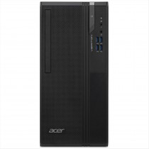 Acer Veriton VES2740G i3-10100 Mini Tower Intel® Core™ i3 di decima generazione 4 GB DDR4-SDRAM 256 GB SSD Windows 10 Pro PC Nero
