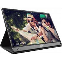 """ASUS MB16AMT monitor touch screen 39,6 cm (15.6"""") 1920 x 1080 Pixel Nero, Grigio Multi-touch Multi utente"""