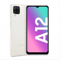 """Samsung Galaxy A12 SM-A125FZWKEUE smartphone 16,5 cm (6.5"""") Doppia SIM 4G USB tipo-C 4 GB 128 GB 5000 mAh Bianco"""