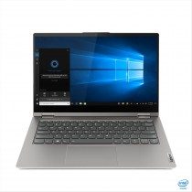 "Lenovo ThinkBook 14s Yoga Ibrido (2 in 1) 35,6 cm (14"") 1920 x 1080 Pixel Touch screen Intel Core i7-11xxx 16 GB DDR4-SDRAM 512 GB SSD Wi-Fi 6 (802.11ax) Windows 10 Pro Grigio"