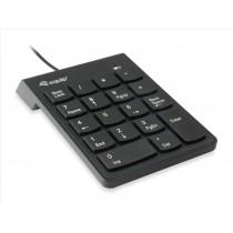Equip 245205 tastierino numerico USB Universale Nero
